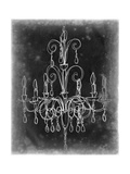 Chalkboard Chandelier Sketch II Art by Ethan Harper
