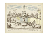 Fountains of Rome III Prints by  Vision Studio
