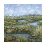 Marshland IV Art by Beverly Crawford