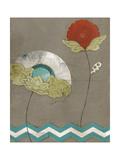 Petal Patterns VIII Print by Erica J. Vess