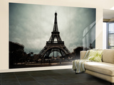 La Tour Eiffel II Wall Mural – Large by Erin Berzel