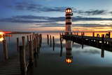 Lighthouse At Night Wall Mural by  TomasSereda