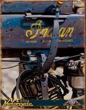 Indian Motorcycles - 1914 Weathered Tin Sign
