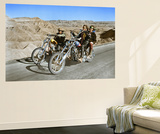 Easy Rider 1969 Directed by Dennis Hopper Dennis Hopper and Peter Fonda Wall Mural