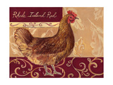 Rustic Roosters III Posters by Theresa Kasun