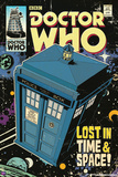 Doctor Who-Tardis Comic Cover Photo