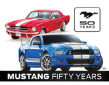 Ford Mustang 50th Tin Sign Tin Sign