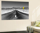Road view - Death Valley National Park - California - USA - North America Wall Mural by Philippe Hugonnard