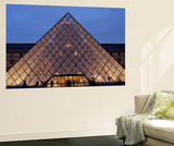 Pyramid, Louvre, Paris, France Wall Mural by Alex Bartel