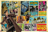 Doctor Who-Comic Strip Print
