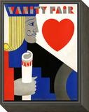 Vanity Fair Cover - November 1929 Framed Print Mount by M. F. Agha