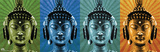 Mcfly-Buddha Wearing Headphone Affiche