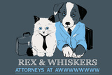 Attorneys at Awww Snorg Tees Poster Lámina