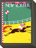 The New Yorker Cover - August 22, 1925 Framed Print Mount by A.E. Wilson