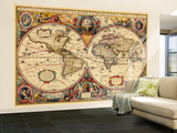 1633, World Wall Mural – Large