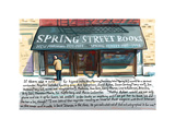 Spring St Book - Cartoon Premium Giclee Print by Bob Eckstein