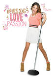 Violetta - Music Love & Passion Wall Decal