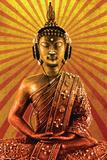 Mcfly-Buddha Wearing Headphone Affiches