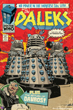Doctor Who-Daleks Comic Cover Prints