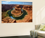 Horseshoe Bend, Marble Canyon, Colorado River, Arizona, USA Wall Mural by Charles Gurche