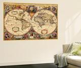 1633, World Wall Mural