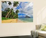 Tropical Dream Beach Getaway Wall Mural by  vitalytitov