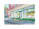 Greenlight Bookstore - Cartoon Premium Giclee Print by Bob Eckstein