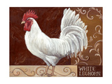Rustic Roosters IV Prints by Theresa Kasun