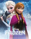 Frost - Anna & Elsa Poster