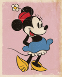 Minnie Mouse - Retro Affiches