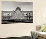 Pyramid at the Louvre II Wall Mural by Rita Crane