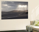 Traigh Losgaintir Beach and Estuary in Evening Light, North Harris, Scotland, UK, May Wall Mural by Peter Cairns