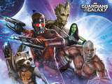 Guardians Of The Galaxy - Team Lámina maestra