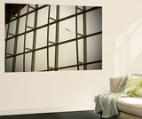 Airplane Flying Out of Hong Kong International Airport Wall Mural by John Burcham