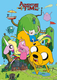 Adventure Time - House Lámina
