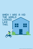 When I Was a Kid Snorg Tees Poster Prints