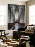 Notre Dame Cathedral Interior, Amiens, Somme, Picardy, France Wall Mural by Walter Bibikow