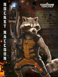 Guardians Of The Galaxy - Rocket Raccoon Masterprint
