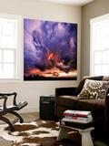 Fargerik himmel Veggmaleri av Philippe Sainte-Laudy