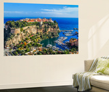 The Rock The City Of Principaute Of Monaco And Monte Carlo In The South Of France Wall Mural by  OSTILL