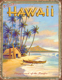 Hawaii - Playground Tin Sign Tin Sign