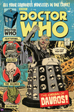 Doctor Who-Origin Of Davros Comic Cover Posters