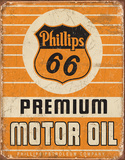 Phillips 66 Premium Oil Tin Sign Tin Sign