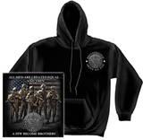 Hoodie: Army - Brotherhood Pullover Hoodie