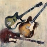 Guitars I Poster van Joseph Cates