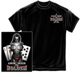 Know When To Holdem T-shirts