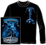 Long Sleeve: Never Forget Fallen Soldier T-shirts