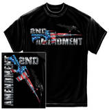 AR15 Second Amendment Flag Shirts