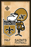 New Orleans Saints - Retro Logo 14 Prints