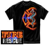 Fire Rescue Full Front Maltese Shirts